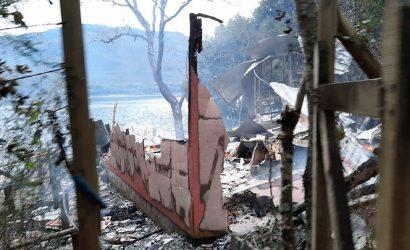 Desgarrador relato de mujer que le quemaron la casa en lago Lanalhue: «Esto no puede seguir pasando»