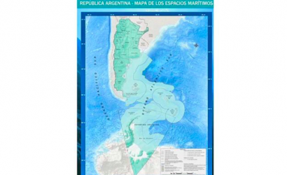"""Gobierno chileno rechaza """"nuevo mapa de Argentina"""" que incluye sus reclamaciones en la Antártica"""