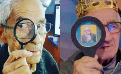 Abuelo pidió una fiesta con temática de El Agente Topo y Don Sergio le mandó un saludo de cumpleaños
