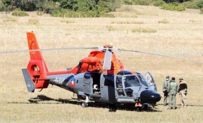 Fiscalía Naval de Talcahuano ordena peritajes a helicóptero de la Armada que fue baleado