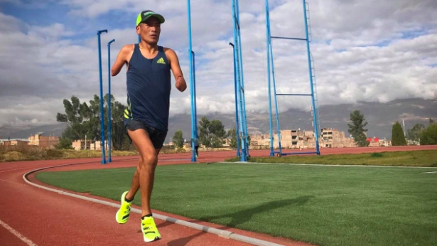 Efraín Sotacuro (Paralímpicos): «Confirmé que mis piernas son un regalo de Dios»